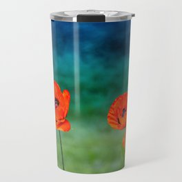 Poppies paradise Travel Mug