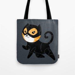 Catwoman Cat Tote Bag