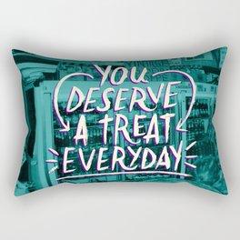 A Treat Everday Rectangular Pillow