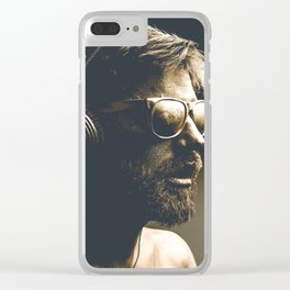 Painting man Clear iPhone Case