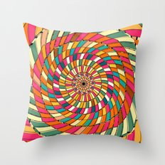 Delayed Throw Pillow
