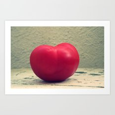 Tomato Red Art Print
