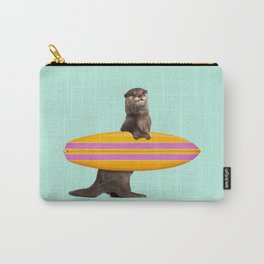 SURFING OTTER Carry-All Pouch