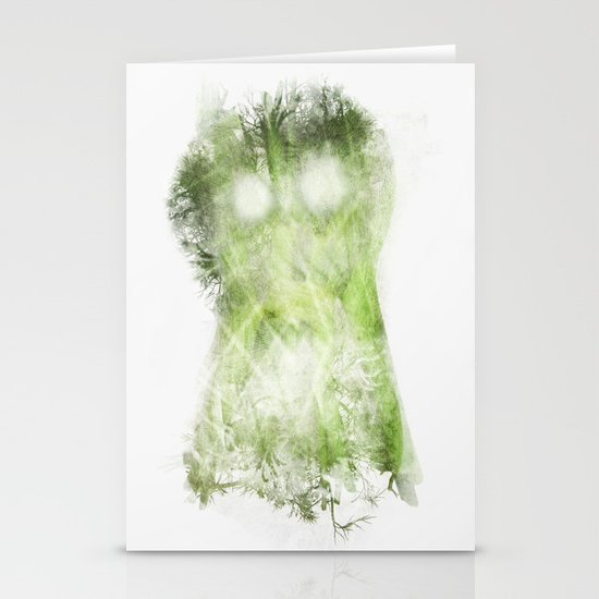 phantom vegetable Stationery Cards