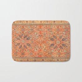 Antique Persian Sultanabad Rug Print Bath Mat