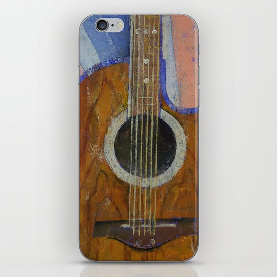 Guitar Sunshine iPhone & iPod Skin