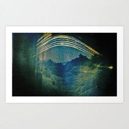 once upon… the sun Art Print