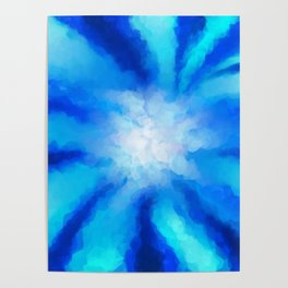 Tropical Sea Flower Poster
