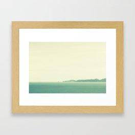 Cape Kidnappers Framed Art Print
