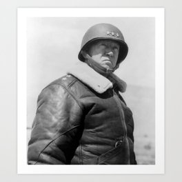 General George S. Patton Art Print