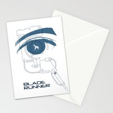 BLADE RUNNER (White - Voight Kampf Test Version) Stationery Cards