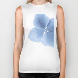Pansy Flower. Big blue flower Biker Tank