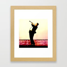 The Clarinet's Toot Framed Art Print
