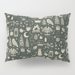 Winter Nights: Forest Pillow Sham