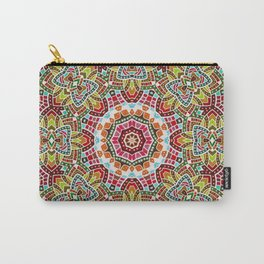 Persian kaleidoscopic Mosaic G508 Carry-All Pouch