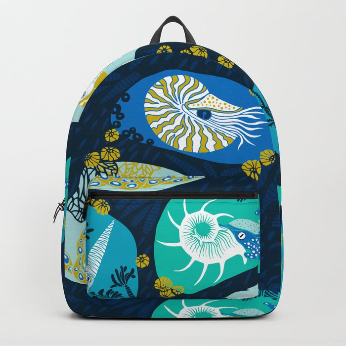 Cephalopods through time Backpack