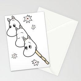 Kawaii Dango Stick Stationery Cards
