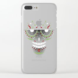 Mr. Sugar Skull Clear iPhone Case