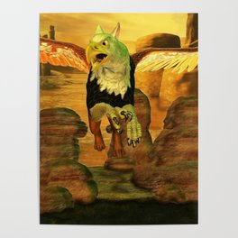 Myth Series 1 Griffin Earth Poster