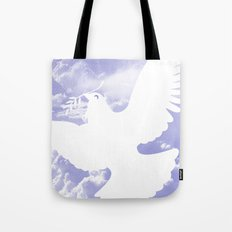 Peace All Over Tote Bag