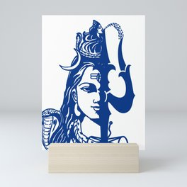 Lord Shiva In Holy Contemplation Mini Art Print