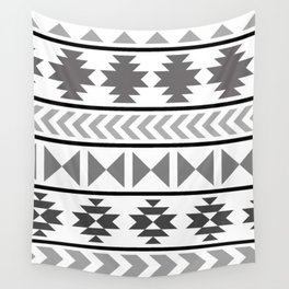 Winter Aztec Wall Tapestry
