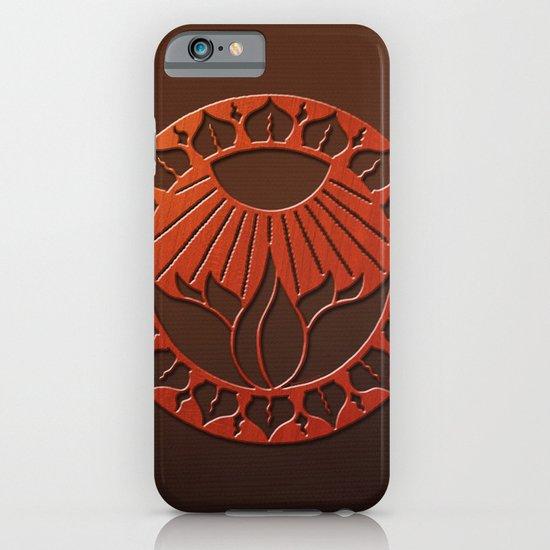 iliahni woodcut print iPhone & iPod Case