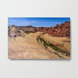 Coat-of-Many-Colors 0981 - Valley of Fire State Park, Nevada Metal Print