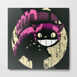Cheshire no to toro (reworked) Metal Print