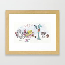 Spongebob Squarepants Framed Art Print