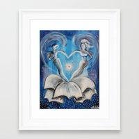 wedding Framed Art Prints featuring Wedding by sladja