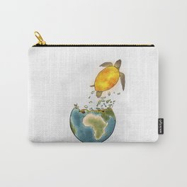 Climate changes the nature Carry-All Pouch