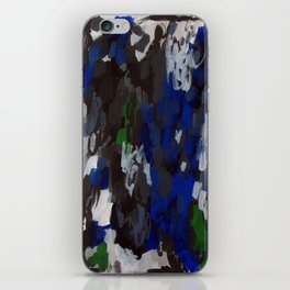 No. 69 Modern Abstract Painting iPhone Skin