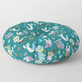 Dragon Dance Floor Pillow