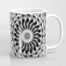 Gray Kaleidoscope Art 29 Coffee Mug