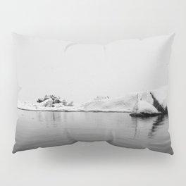 Iceland Black And White #society6 #home #decor Pillow Sham