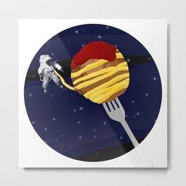 Space Spaghetti Metal Print