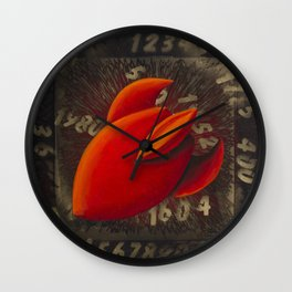 Time Travel Wall Clock