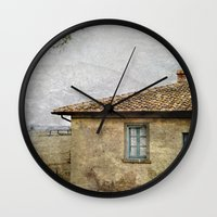 italian Wall Clocks featuring Italian Farm by ZenzPhotography