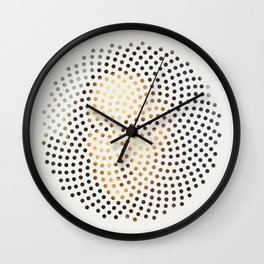 Optical Illusions - famous works of art 1 Wall Clock