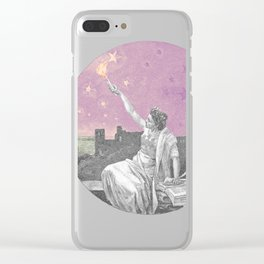 Torch the Sky Clear iPhone Case
