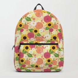 Summer Sunflower Backpack