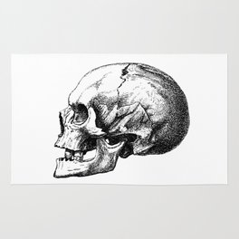 Just One More Skull Rug