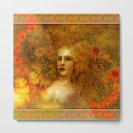 """Ofelita de Oro"" (From ""Death, Life, Hope"") Metal Print"