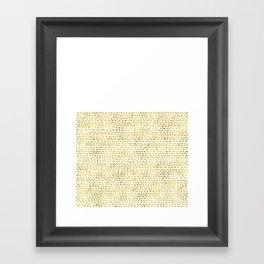Riverside Gold Framed Art Print