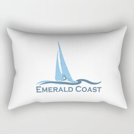 Emerald Coast - Florida. Rectangular Pillow