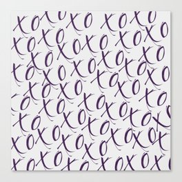 X's and O's Canvas Print