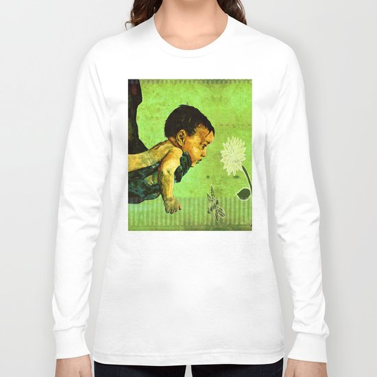 BEE tween worlds - infinity Long Sleeve T-shirt
