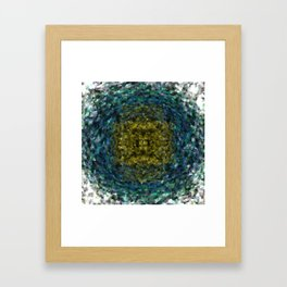 Geode Abstract 01 Framed Art Print