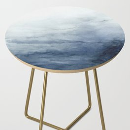 Indigo Abstract Painting | No.2 Side Table